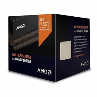 AMD FX-8370 Desktop Processor with Wraith Cooler Vishera 8-Core 4.0 GHz Socket AM3+ 125W FD8370FRHKHBX