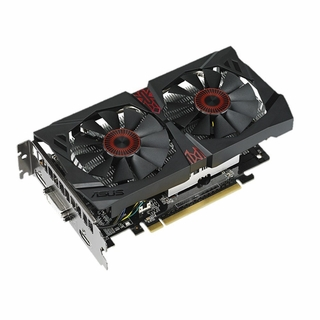 ASUS GeForce GTX 750 Ti STRIX-GTX750TIOC2GD5 2GB 128-Bit GDDR5 PCI Express 3.0 HDCP Ready Video Card