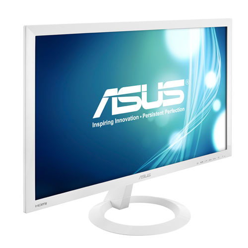 "Asus VX238H-W White 23"" 1ms (GTG) HDMI Widescreen LED LCD"