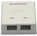 Battleborn 2-Port RJ-45 Surface Wall Mount Box