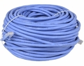 Blue Cat6a 150 foot Ethernet Patch Cable