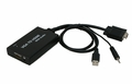 Bytecc HM-CV030 VGA to HDMI converter with audio and USB for power