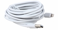Coboc iSyncLT8-10-WH MFI Certified Apple 10ft Lightning Charging Cable