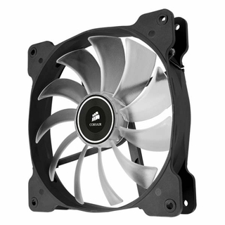 Corsair CO-9050017-WLED Air Series Quiet AF140 140mm White LED Fan