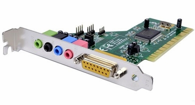 eDIO SC3400D Live Theater PCI 4 Channel Internal Sound Card