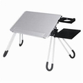 Estand Next Success LD-05N SILVER Notebook / Laptop Table