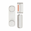 Exterior Button Set Replacements for iPhone 5 - Silver