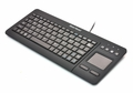 Gear Head KB3700TP 82-Key and Trackpad USB Wired Keyboard