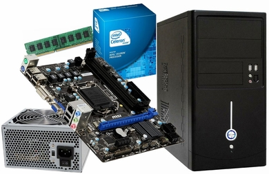 Intel Celeron G550 Barebones Kit with Motherboard and RAM