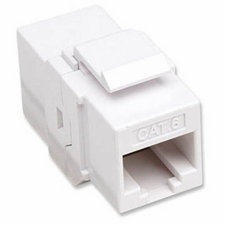 Intellinet 505147 Cat6 RJ45 Inline Coupler (White)