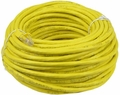 KeyDex UG-C6-75F-YW 75' Cat6 Yellow Ethernet Patch Cable