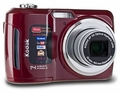 Kodak EasyShare RED-C195 14MP 5x Optical/5x Digital Zoom HD Camera Red