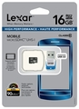 Lexar 16GB Class 10 microSDHC Memory Card with USB 3.0 microReader