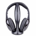 M-Volt Wireless Stereo Headphones w/Microphone, 3.5mm Jack & FM Tuner