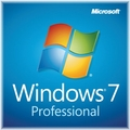 Microsoft Windows 7 Professional 32bit Edition Full OEM License & Disk