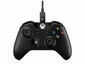 Microsoft Xbox One Controller + Cable 7MN-00001 for Windows USB Black