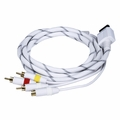 Monoprice 5691 AV Cable w/ Composite (Yellow RCA)/S-Video and Stereo Audio (Red/White) for Wii & Wii U