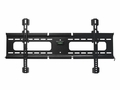 MonoPrice 6284 Ultra-Slim Fixed Wall Mount Bracket for LCD LED Plasma (Max 165 lbs, 37 - 70 inch), BLACK