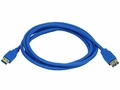 MonoPrice 6506 Gold Plated 6ft USB 3.0 A Male to Female Extender Cable
