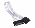 NZXT CBW-SATA-11P 300mm SATA Power Extension Cable White