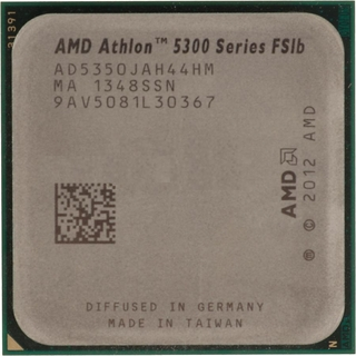 OEM AMD AD5350JAH44HM Athlon 5350 X4 AM1 2MB 2.05GHz 25W