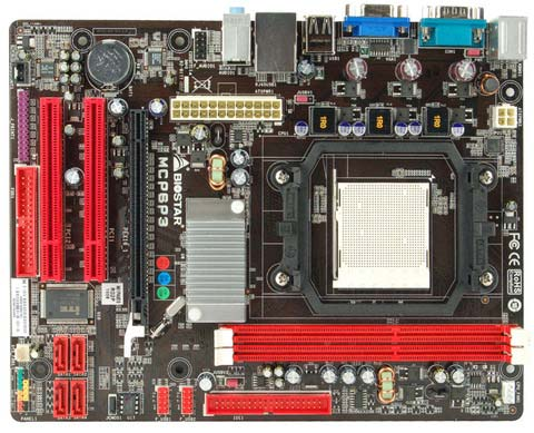 Refurb Biostar MCP6P3 GeForce 6150 Socket AM3 Micro ATX Motherboard