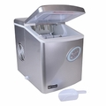 Refurbished Emerson  SIL-IM90-FB-RC Portable Ice Maker (Silver)