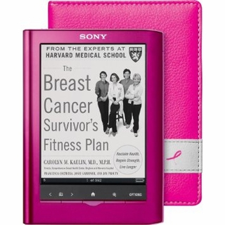 "Refurbished Sony 5"" Reader Pocket Edition PRS-350PC eBook Reader w/ E Ink Pearl Pink"