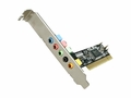Rosewill RC-701 - 5.1-Channel Sound Card with PCI-Interface