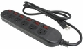 Rosewill RPS-210BL 6 Outlets Power Strip Black