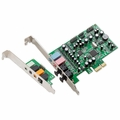 Syba 7.1 Surround Sound PCI-e Audio Card with S/PDIF I/O