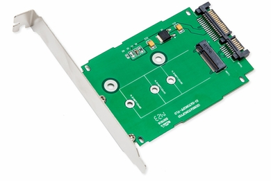 """Syba SI-ADA40083 M.2 NGFF to 2.5"""" SATA 6Gbps Card"""