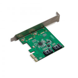 SYBA SI-PEX40094 PCI-Express Internal 2x SATA PCI-e Controller Card