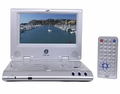 Widescreen Portable DVD Player with Rechargeable Battery and Car Kit