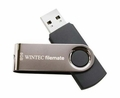 Wintec Swivel Cap 8GB USB Flash Drive