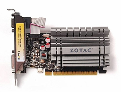 ZOTAC GeForce GT 730 DirectX 12  ZT-71113-20L 2GB 64-Bit DDR3 PCI E 2.0 x16 Video Card