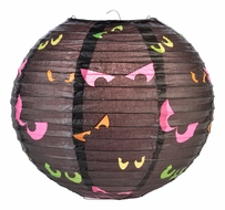 "10"" Scary Eyes Halloween Paper Lantern"