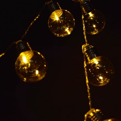 clear plastic light bulb shaped string lights battery operated. Black Bedroom Furniture Sets. Home Design Ideas