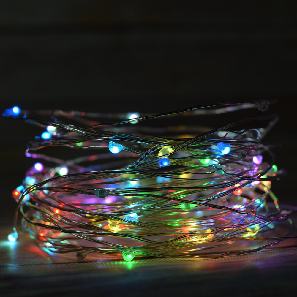 Brown Wire Led Christmas Lights