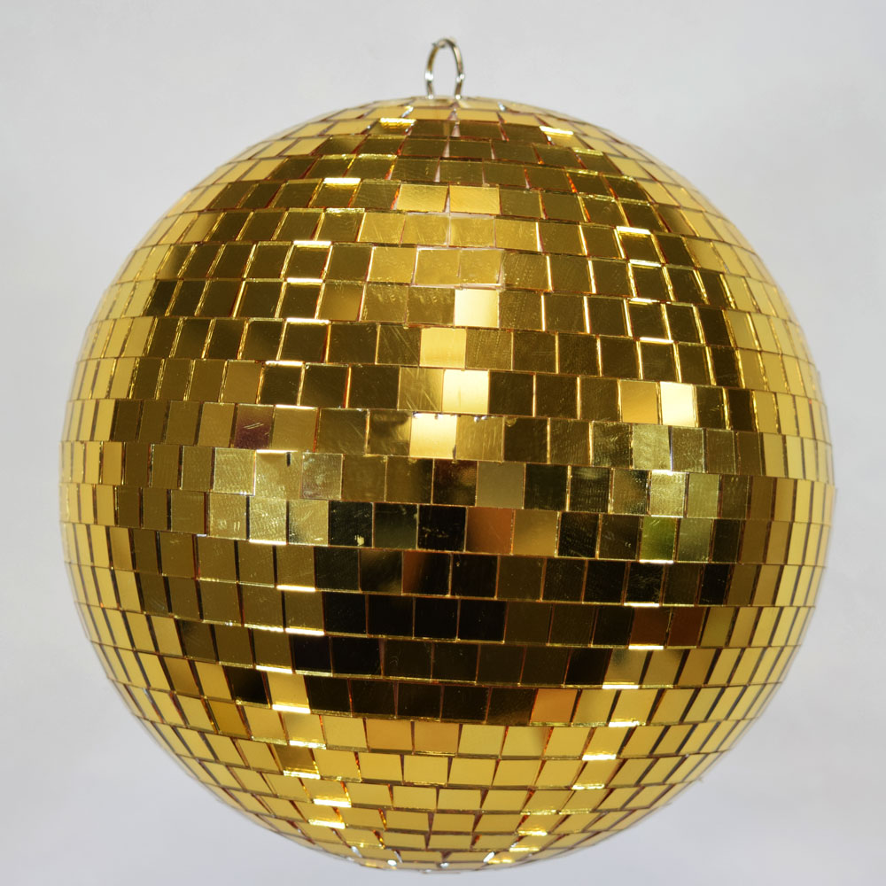 12 Quot Gold Disco Mirror Ball For Dance Party Ebay