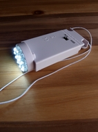 16 LED Hanging Battery Light For Lanterns, White (Battery Powered)