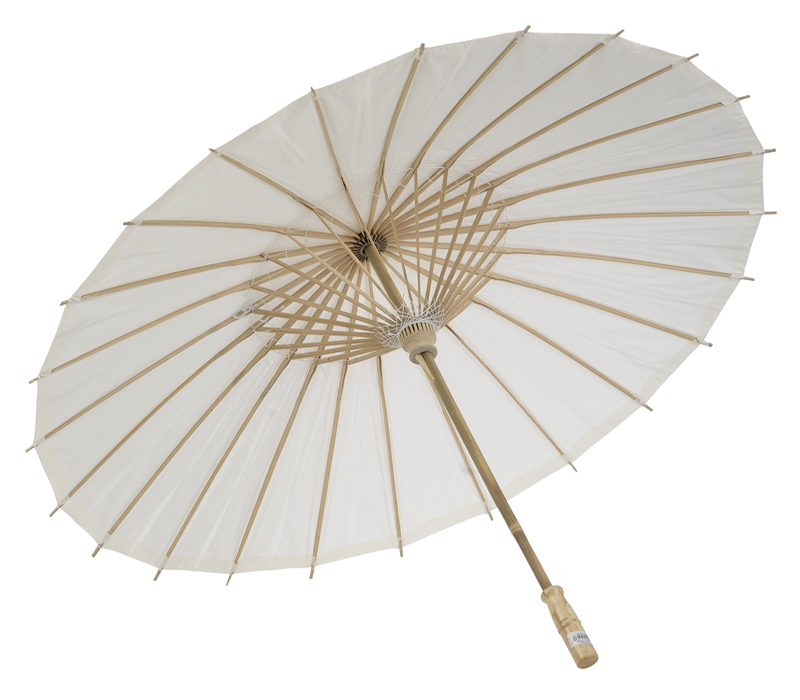 "32"" White Paper Parasol Umbrellas On Sale Now!"