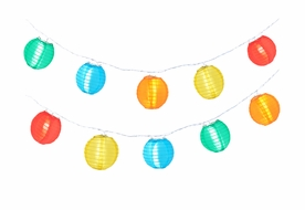 "4"" Multi Color Nylon Party String Lights"