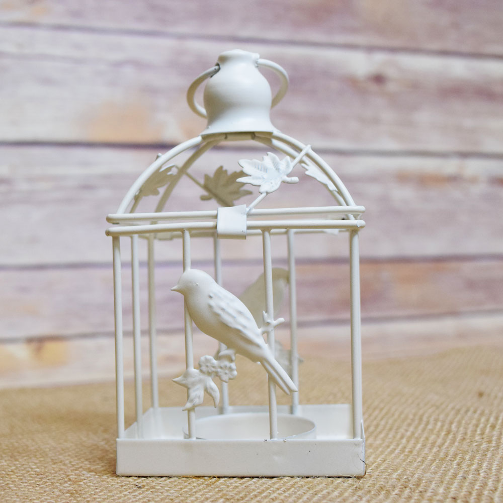 5 Quot Classical Birdcage Square Tealight Candle Lantern