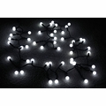 50 LED Large Ball String Light - White Color
