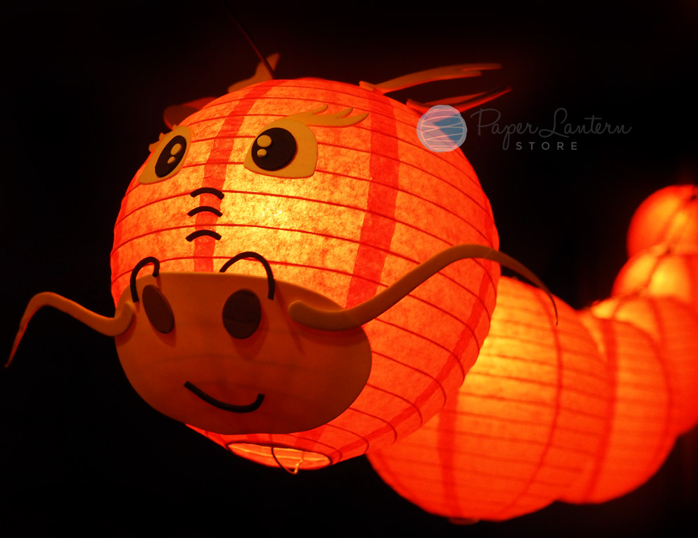 Details about chinese new year paper lantern string light combo