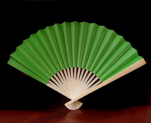 9 Quot Grass Greenery Paper Hand Fans For Weddings 10 Pack