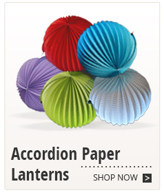 Accordion Paper Lanterns