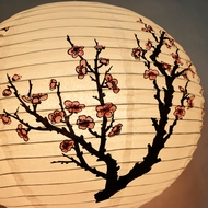 Asian Chinese Japanese Patterned Lanterns