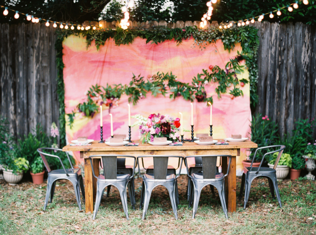 Wedding Ideas Backyard : Backyard Wedding Decoration Ideas